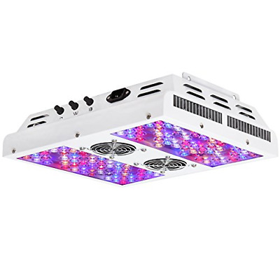 VIPARSPECTRA Dimmable Series PAR450 450W LED Grow Light - 3 Dimmers 12-Band Full