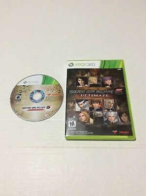 Dead or Alive 5: Ultimate (Microsoft Xbox 360, 2013)