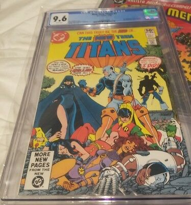 THE NEW TEEN TITANS #2, 1st Appearance DEATHSTROKE the TERMINATOR, 1980, CGC 9.6