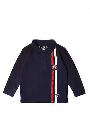 GUESS N83P03K5D20 Blue-DEKB Polo shirt Kids Fall/Winter