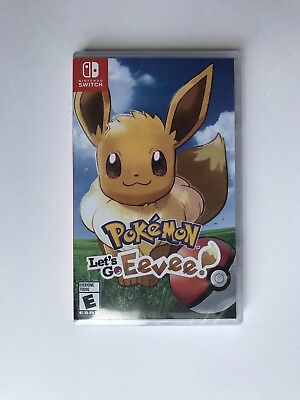 Pokemon: Let's Go, Eevee!! Nintendo Switch BRAND NEW FACTORY SEALED