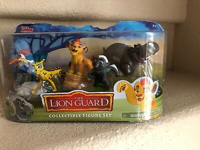 The Lion Guard - Collectible Figures Set - Disney Junior - Ages 3+