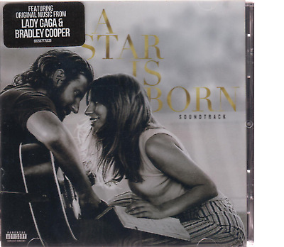 A Star Is Born Explicit Movie Soundtrack Full Track CD Album Lady Gaga Bradley C
