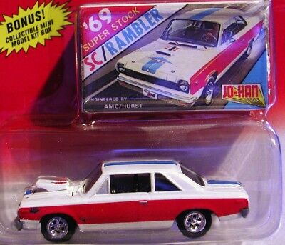 Johnny Lightning 69 1969 AMC SC/ Rambler Super Stock Classic Plastic Car RRs