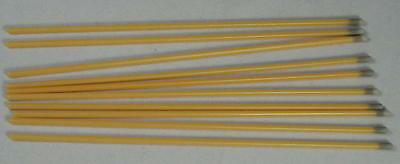 """15 Flexible Caustic Silver Nitrate Applicator Sticks 6"""". Warts Removal, Petnails"""