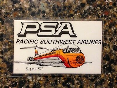 Pacific Southwest Airlines PSA Luggage Name Tag