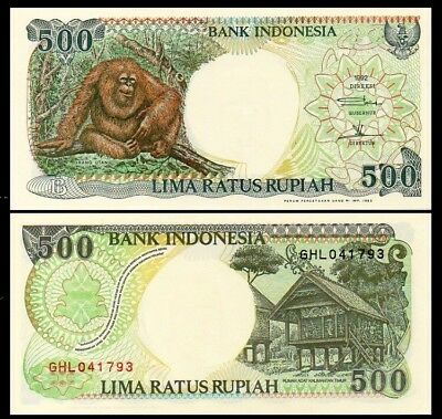 INDONESIA 500 Rupiah, 1992, P-128, UNC World Currency