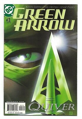 Green Arrow #1-2nd Print NM  2001 (2nd Series)   *Free Shipping*