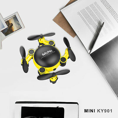Wifi RC Drone 2.4GHz 4CH Helicopter 6-Axis Quadcopter Drone RTF KY901 UAV Yellow