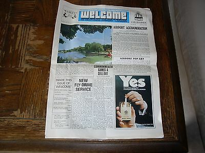 July 3, 1970 Welcome to Heathrow Airport London Newspaper