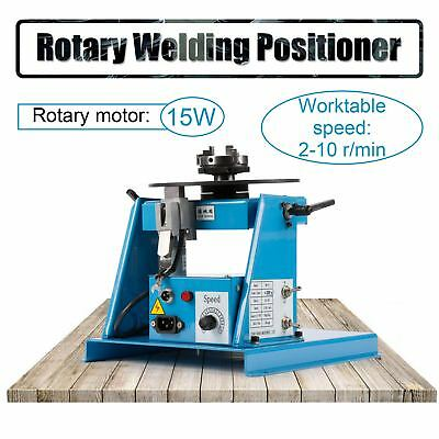 US 110V ROTARY Welding Positioner Turntable Table 2 5