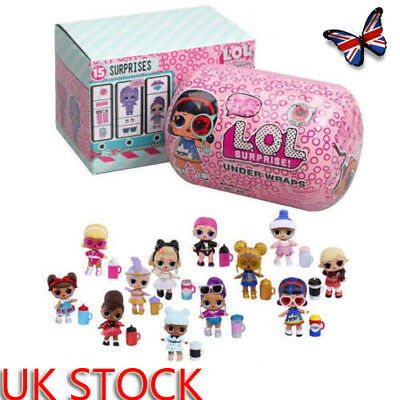 UK New LOL Surprise Eye Spy Series Under Wraps Capsule Big Sister Doll FREE SHIP