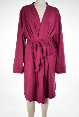 a82ad9ca690 Charter Club Intimates Women s French Terry Kimono Robe Size XXXL MSRP   39.99