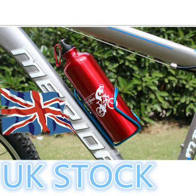 Outdoor Black Metal Water Bottle Rack Cage Holder Cycling Bicycle Mountain Bike