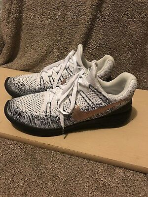check out 65d23 bd69e Nike Lunarepic Low Flyknit 2 Explorer Oreo Mens 904742-100 Mens Size 12