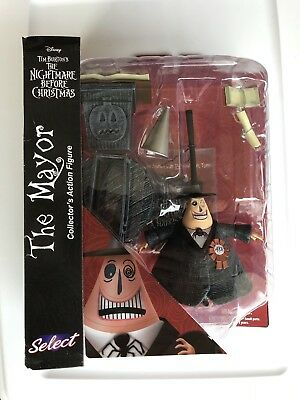 2016 The Nightmare Before Christmas The Mayor Figure Diamond Select SEALED!