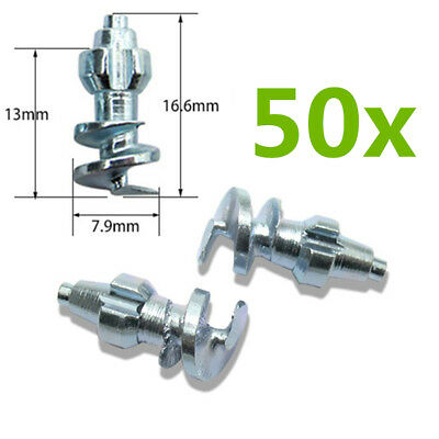 50x Alloy Spike Stud Screw For Car Truck Winter Tire Grip ATV Ice Snow Road JX16