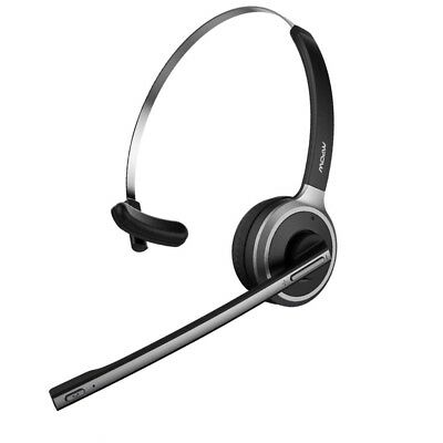 20de0eed676 Mpow V4.1 Bluetooth Headset Truck Driver Headset Wireless Over Head  Headphone
