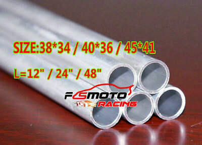 Select Size 6061 Straight Aluminium Round Hollow Pipe Tube 34mm 38mm 41mm 45mm