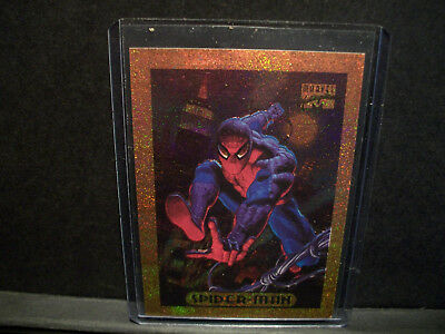 1994 Marvel Masterpieces Spider-Man BRONZE Holofoil Card WalMart Exclusive  RARE