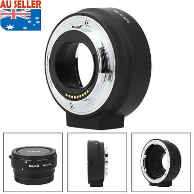 Meike MK-C-AF4 Adapter Ring for Canon EOS-M Mount Mirrorless to EF EF-S Lens New