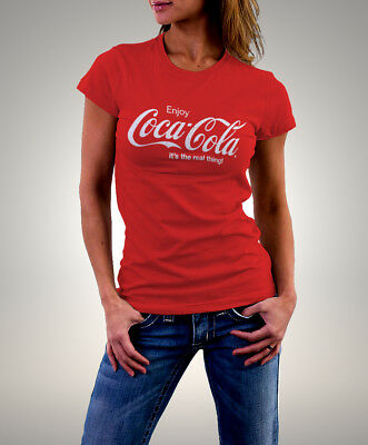 Coca Cola it`s the real thing ! Woman T-shirt