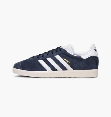 New Mens Adidas Originals Gazelle Trace Blue Suede Trainers UK 8 BY9353 Womens