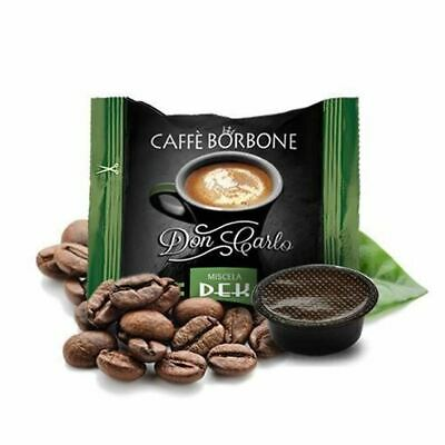 200 Capsules Compatible Way My Coffee' Bourbon Don Carlo Green Dek Decaf