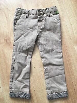 c43e34a34be9 Baby Boys Ted Baker Chinos Age 12-18 Months Christmas Smart Trousers Beige