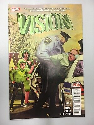 Marvel Comics: The Vision #5 (2016) - BN - Bagged and Boarded
