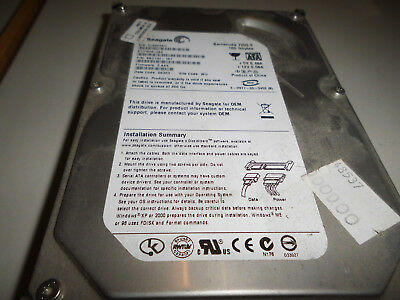 Seagate Barracuda 7200.9 160GB,Intern,7200RPM,8,89 cm (3,5 Zoll)