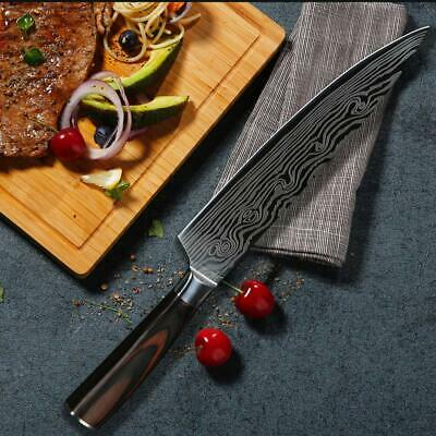 8 Inch Chef Knife Ultra-Sharp German Carbon Stainless Steel Blade