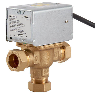 Honeywell 28mm Midposition Diverter Valve V4073A1088