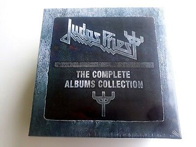 Judas Priest The Complete Albums Collection 19 CD Box Set 2011 Brand New  Sealed