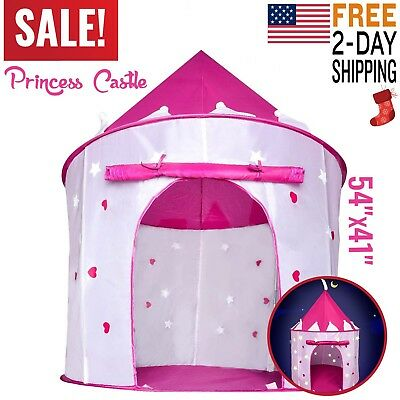 Toys For Girls Kids Children Play Tent House Age 3 4 5 6 7 8 9 10 Years Old