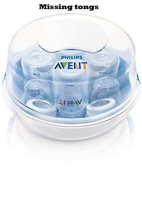 Philips AVENT Microwave Steam Sterilizer (Missing tongs)