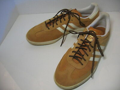 the best attitude d5e39 18eb8 ADIDAS SAMBA ORIGINALS Men Spice Ecru Trainers Suede Shoes US Size Mens 13  NICE