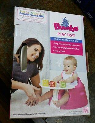 NEW BUMBO BABY PLAY TRAY FOR THE BUMBO FLOOR SEAT (TRAY ONLY) Color Ivory