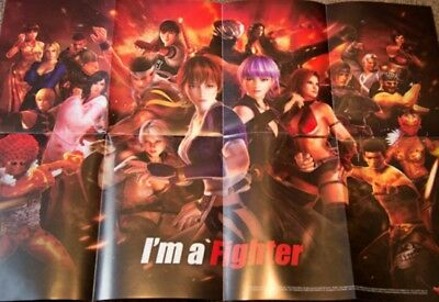 Dead or Alive 5 Collector's Edition Poster|Great Condition|USA SELLER|SHIPS FAST