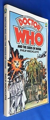 Doctor Who and the Seeds of Doom - 1st edition - Target 55 - Philip Hinchcliffe