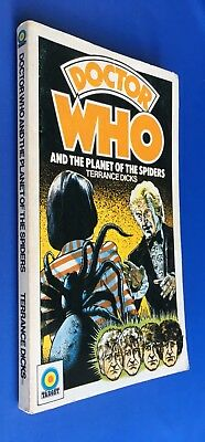 Doctor Who - Planet of the Spiders - Target 48 - 1st Edition - Terrance Dicks