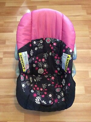 Baby Trend Ez Loc Infant Car Seat Cover Cushion Part Replacement Black Pink Gray