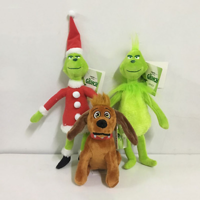 Grinch Plush Toy Doll How The Grinch Stole Boys Girl Halloween Christmas Figure
