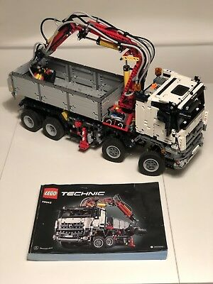 Used Lego Technic 42043 Mercedes Benz Arocs 3245 100 Complete With