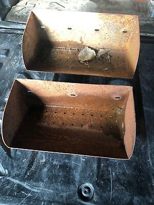 ANTIQUE GRAIN ELEVATOR Conveyor Metal Farmhouse Bucket Rustic Barn Storage