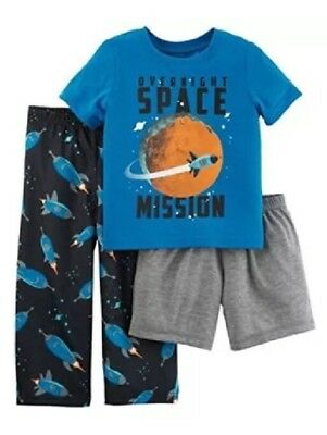 4e86d19860a5 NEW- CARTERS CHILD Of Mine 3 Piece Pirate Pajamas Set Size 3T Nwt ...