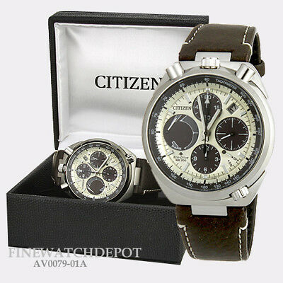 cdaf0e3a4a7 Authentic Citizen Eco-Drive Men s Pro Master Tsuno Chronograph Racer  AV0079-01A