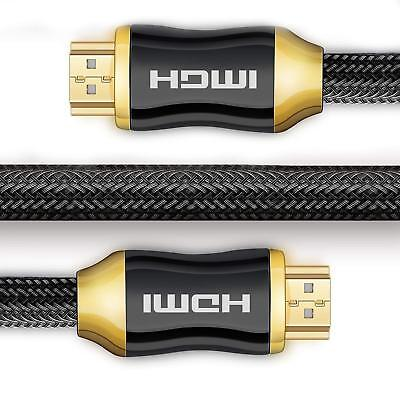 Premium Ultra HD HDMI Cable Support v2.0 1M/2M/5M/8M/10M High Speed 4K 2160p 3D