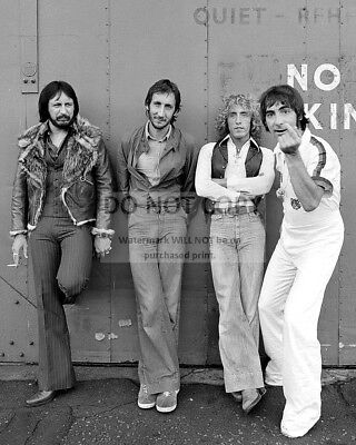 """""""the Who"""" Legendary Rock Band Pete Townshend Roger Daltrey - 8X10 Photo (Rt399)"""