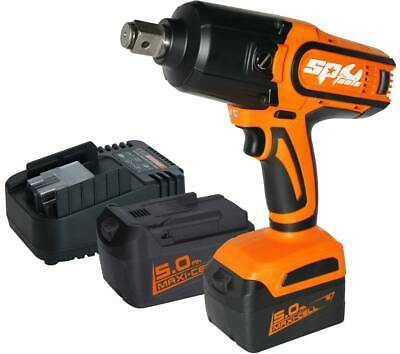 "Impact Wrench SP Tools 18V Cordless 3/4"" Dr with Li-Ion Battery Charger SP81140"
